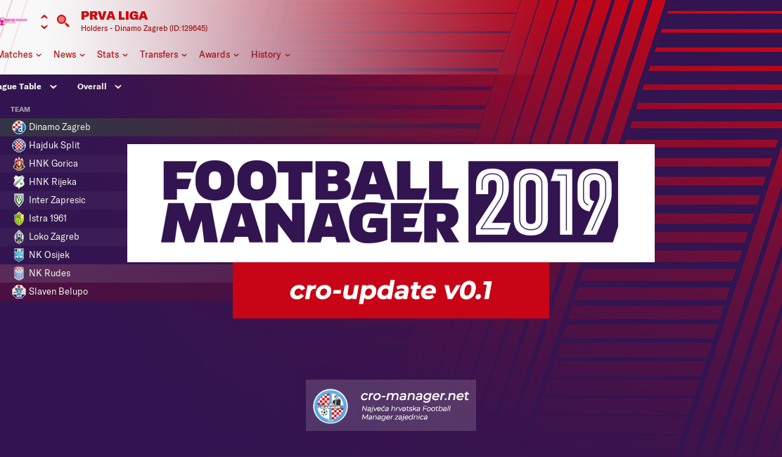 cro-update v0.1 – Transfer window Fix