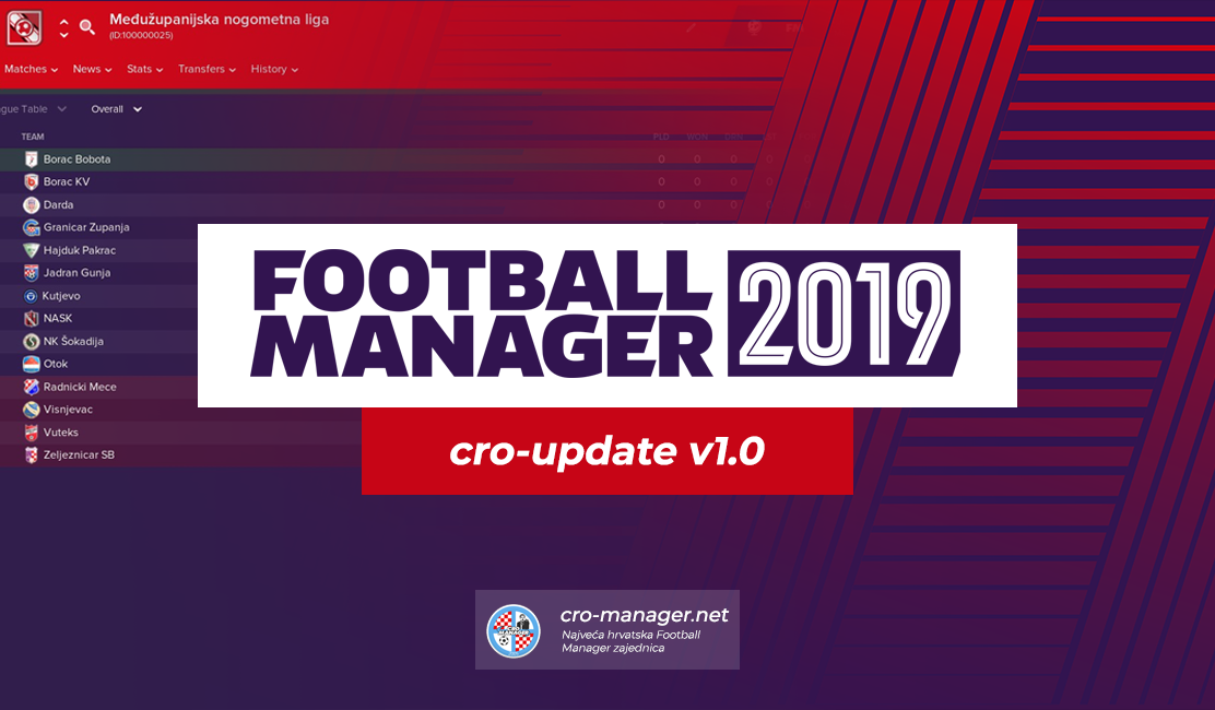 cro-update v1 0 (Croatian Lower Leagues) - Cro-Manager
