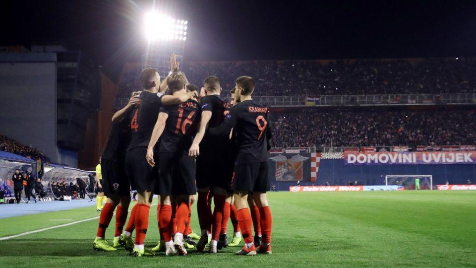 Liga nacija, Hrvatska - Španjolska