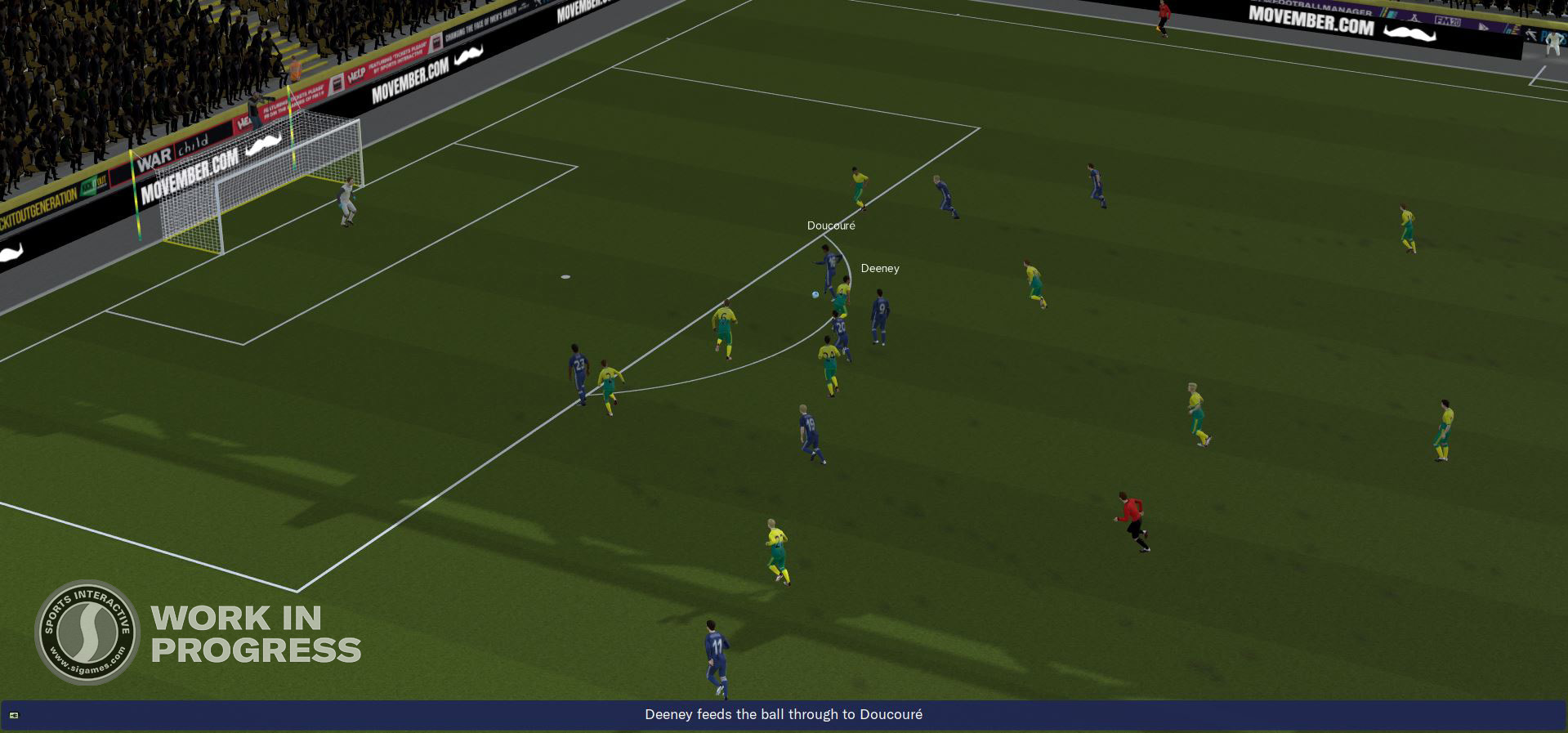 attacking movement