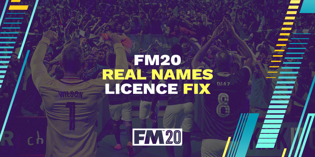FM20 Real Names Licence by FMScout.com & pr0